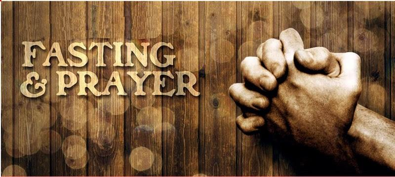 Fasting and Prayer 2016 Frans Meintjes IBC Brussels