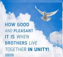 It is in the working together in unity with other believers that we see God's blessing and favour upon our lives and our churches Seeing Christians dwelling together in unity with one another is very
