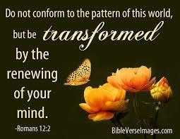 5) That we continually RENEW our mind with the Word of God so that we have Kingdom