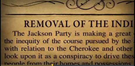 Indian Removal Act 1. Why did Jackson believe the Indian removal was necessary?