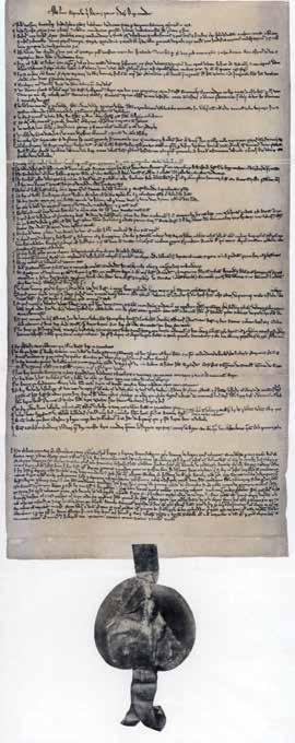 CHAPTER 17: Magna Carta In 1215, King John was forced to sign a list of