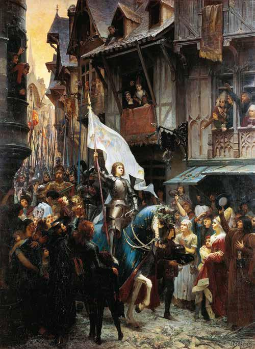 CHAPTER 20: Joan of Arc In 1429, Joan of Arc and her soldiers defeated the English in the French