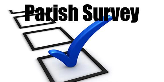Each parish member, high school age or older, is asked to complete the survey. Your response is very important to us. The survey will be conducted between August 15th and September 15th.