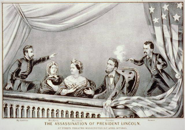 Focus Ac(vity On the evening of April 14, 1865, President Abraham Lincoln and his wife attended a play at Ford s Theater in Washington, D.C.