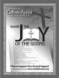 COLLECTIONS May 23 & 24 $10,282 Envelopes Mailed 1974 Amount Needed $13,425 Envelopes Received 546 ANNUAL CATHOLIC APPEAL 2015 Msgr.