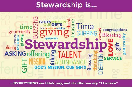 Rideau Park 2016 Stewardship Campaign Materials E ach year at this time of stewardship we are asked to pause and reflect prayerfully on Rideau Park s needs and what our church means to us, our family