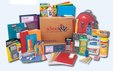 ST. JOSEPH S SOCIAL MINISTRY BACK TO SCHOOL DRIVE Ministry is having a Back to School Collection from August 1-31, 2017.