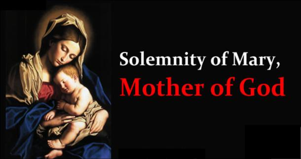 Helena - Enfield - December 25 9:00am Mass for the Solemnity of Mary, Mother of God, which is a Holy Day of Obligation, will be celebrated Monday,