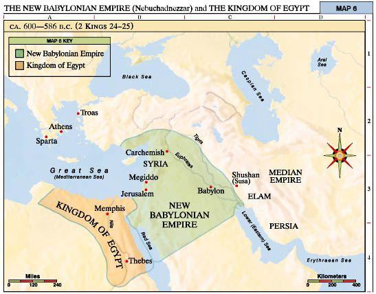 Nebuchadnezzar II Chaldean king who rebuilt the Babylonian empire Took over the southern and western Assyrian