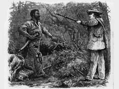 Nat Turner s Rebellion The Capture of Nat Turner. From the Library of Congress Collection.
