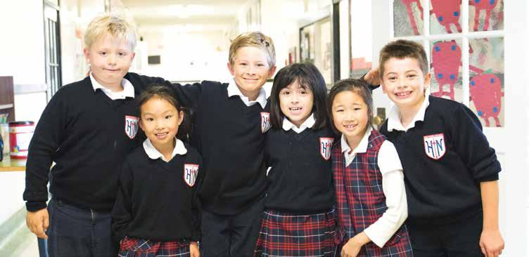 n Gem: Holy Name of Jesus School opportunity for all students to learn either Spanish or Mandarin.