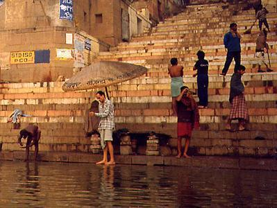 Holy Place: Ganges River To purify the soul.
