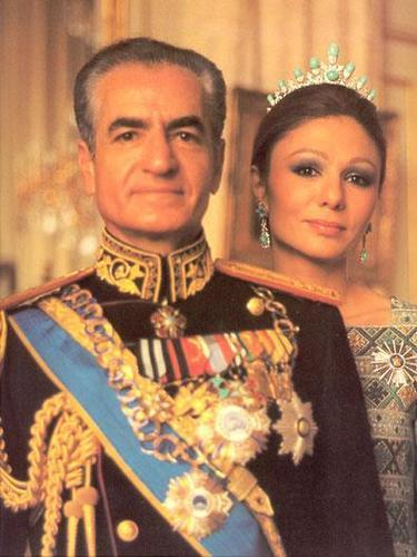 In 1941, the British and the Soviets forced Reza Shah Pahlavi out of power. His twenty-one year old son, Mohammad Reza, replaced him as shah (see pic).