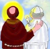 WE ARE CHALLENGED So then, just as we are challenged by our Rule, Pope Francis is challenging all Catholics, but, I believe, especially those of us who are Franciscans to live up to the Rule we have