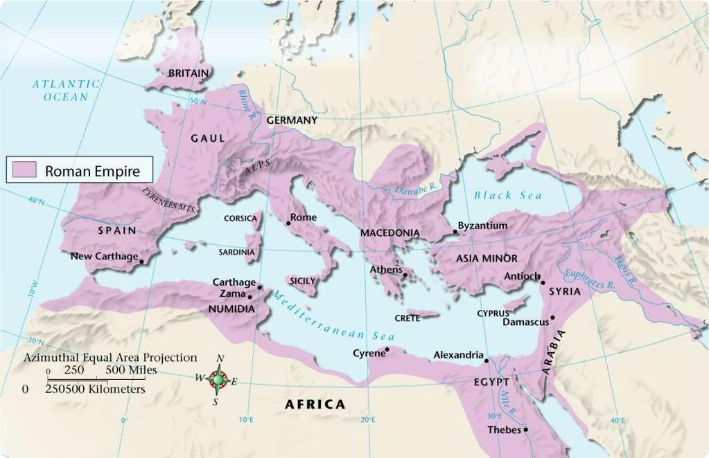 Chapter 6, Section 2 The Roman Empire at Its Height