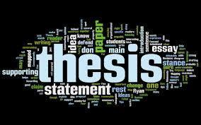 Thesis (opinion) statement Clearly state your opinion on the issue!