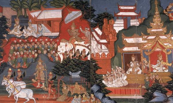 truths with others, he began the religion of Buddhism. Buddhism was different from Hinduism in several ways.