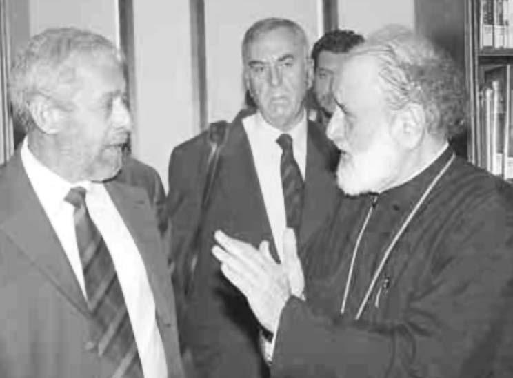 OCTOBER 2006 The Greek Australian VEMA TO BHMA 19/37 The institution of the Synod has been abolished from within, the opinions of the Hierarchy are being undermined, declares Archbishop Stylianos of