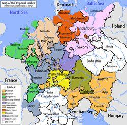 Map of Germany (the