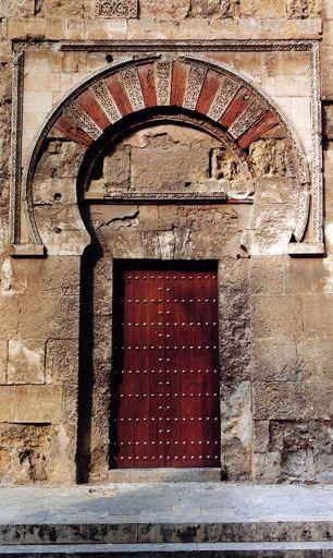 4) the horseshoe shape of these arches was actually adopted from Visigothic architecture But was