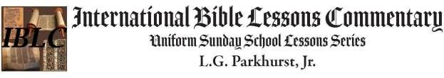 Numbers 25:10-13 & 1 Samuel 2:30-36 King James Version November 5, 2017 The International Bible Lesson (Uniform Sunday School Lessons Series) for Sunday, November 5, 2017, is from Numbers 25:10-13 &