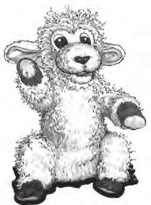 Cut out a paper heart for each child in class. Cuddles: Bring out Cuddles the Lamb. When you ve finished the script, put Cuddles away, out of sight of the children. Hello, everyone!