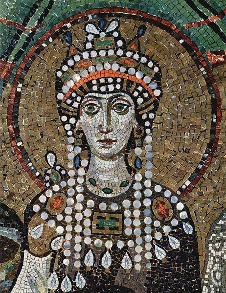 The Easter Roman Empire is more commonly known as Byzantium. Justinian and his wife, Theodora, had a peasant background.