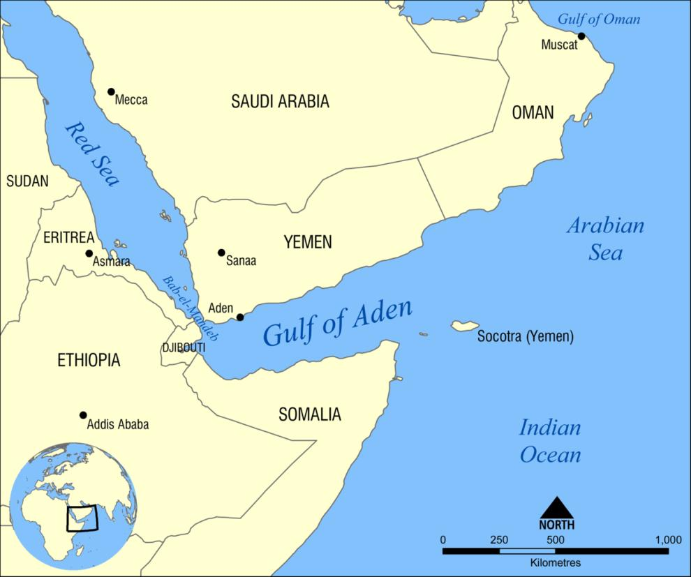 On the Arabian peninsula, the city of Aden also benefited from increased trade.