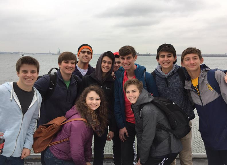 7th-12th Grade Learning Gesher Program: Grade 7- NEW New this year, our 7th grade students will gather six times throughout the year to engage in community service experiences.