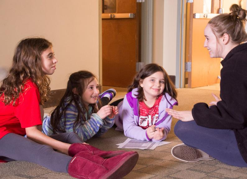 7th-12th Grade Engagement Youth Groups Jr. SCRUFY: Grades 7 & 8 Jr. SCRUFY is Temple Sinai s youth group for 7th and 8th graders. Jr. SCRUFY is intended to be relevant to our teen s lives and be an introduction to older teen youth groups and programs.