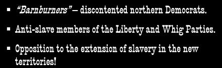 Anti-slave members of the Liberty and