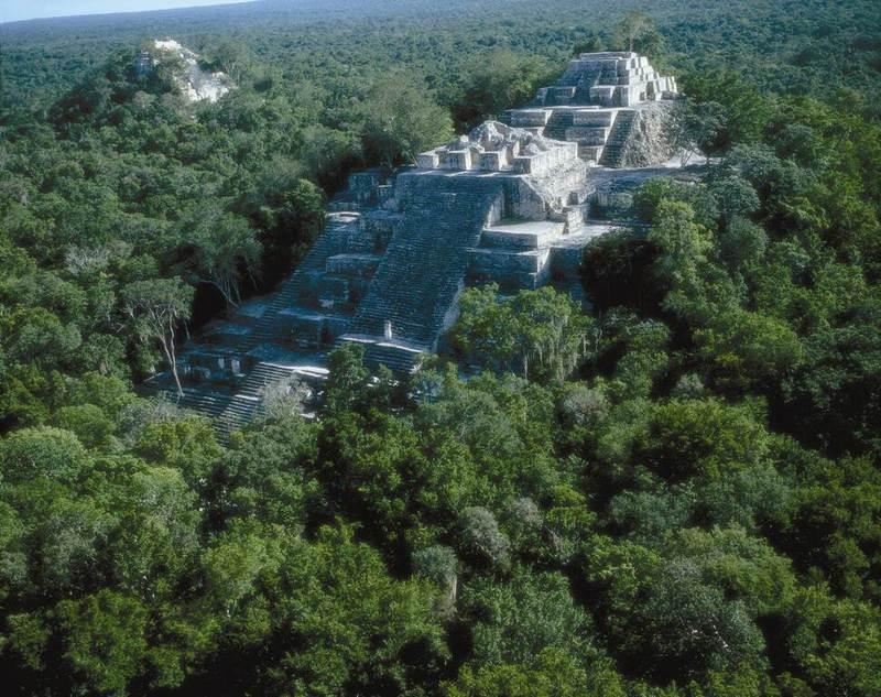 THE TWO PYRAMIDS AT CALAKMUL, CAMPECHE, MEXICO The CALAKMUL Stargate OPENING THE GIFTS OF YOUR VOICE CHANNEL AND HIGHERSELF - SOUL CONTACT WITH YOUR ASCENDED PLEIADIAN HIGHER SELF.