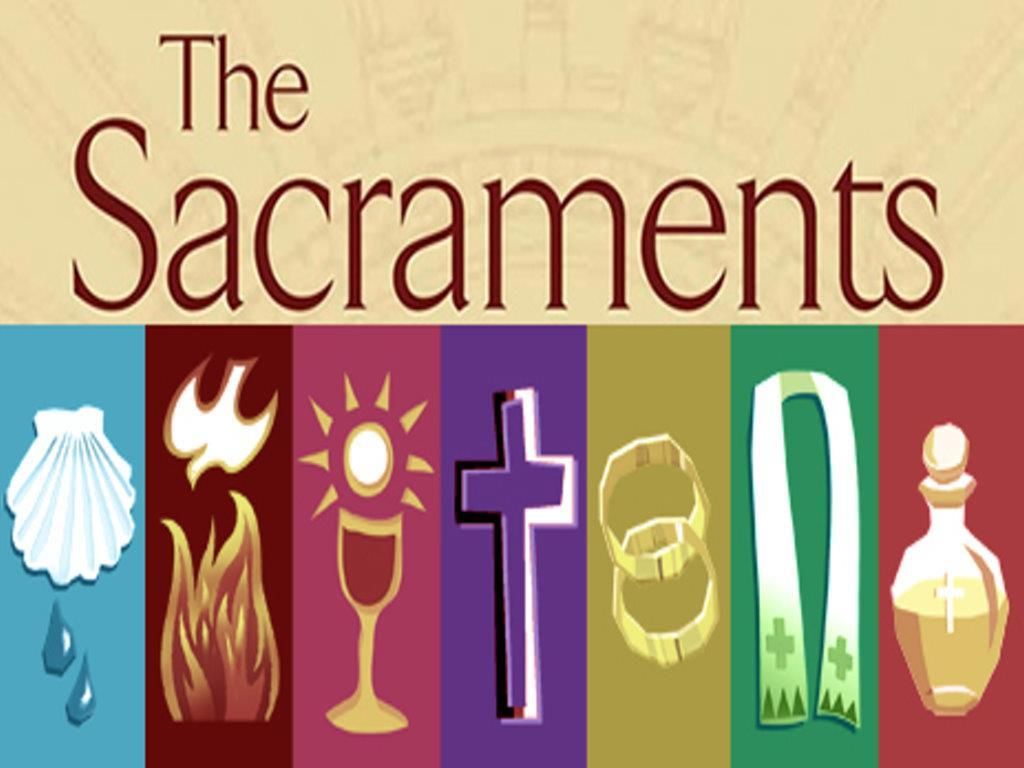 Organizing the Seven Sacraments There are different ways to categorize the 7 sacraments; one way is by looking at their purpose: Sacraments of initiation Baptism,