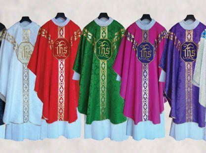 Liturgical Colors Green Red White Purple Rose Meaning Life, Hope Fire, Love, Blood Purity, Joyful Festivity Sorrow, Penitence Joy Use Masses during Ordinary Time Feasts of martyrs, Pentecost, and