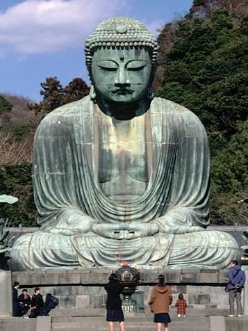 Kamakura Daibutsu Buddhism was introduced to Japan in ad 539, when a Korean ruler sought an alliance with the ruler of Yamato in Japan.