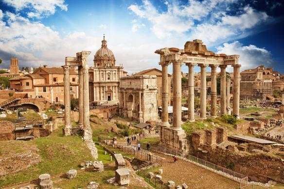 Hotel Fontebella or similar B,D Day 4: Saturday, April 2, 2016 Rome We depart this morning for Rome. Along the way we stop at the town of Cascia where we explore the life of St.