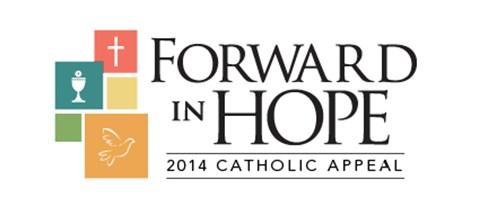 Catholic Appeal 2014 The 2014 Catholic Appeal campaign is well underway both parishes and throughout the Archdiocese of Boston. To date 29 Donors from Sacred Heart Parish have pledged $31,770.