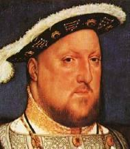 Henry VIII Second son, after Arthur Clergy, theologian Married Catherine,