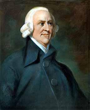 Adam Smith Three Principles of Economics Free Trade Anti-tariff and mercantilism Labor was the
