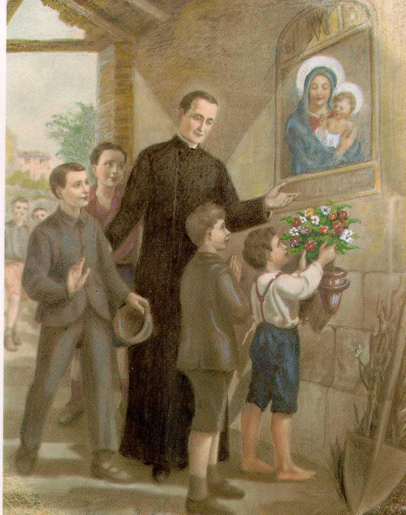 St. GASPAR BERTONI FOUNDER of the CONGREGATION of the SACRED STIGMATA of OUR LORD, JESUS CHRIST SOME RUDIMENTS of his SPIRITUAL WRITINGS SPECIAL THEMES Fr.