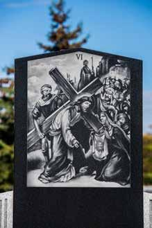 DID YOU KNOW: Commonly the Way of the Cross is a series of fourteen images arranged in order along a path.