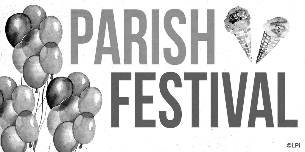 In Service of Parish and Community SEPTEMBERFEST COMMITTEE MEMBER Goal: Oversee an activity at our annual parish fundraiser.