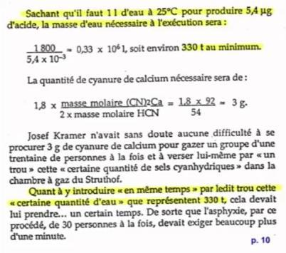 Off course, a small quantity of gas will escape from the water to enter the atmosphere, but how much water should be poured to reach lethal doses? Pierre Marais did the calculation.