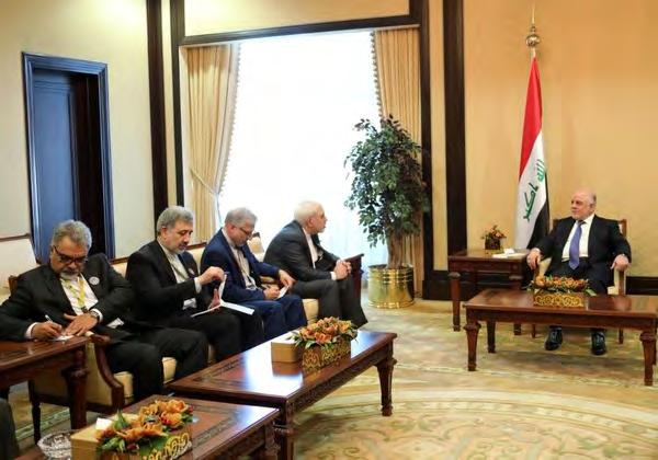 Representatives of over 50 states took part in the conference and it is intended to garner financial aid and investments for rebuilding Iraq following the end of the campaign against the Islamic