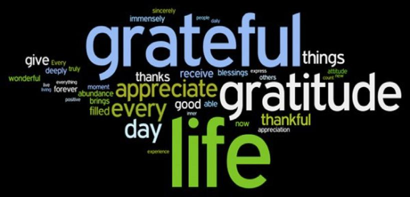 Slide 2 Definition of Gratitude Gratitude Gratitude = The ability to recognize and acknowledge
