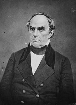 Entire cabinet (except for Secretary of State Daniel Webster) resigned on the same