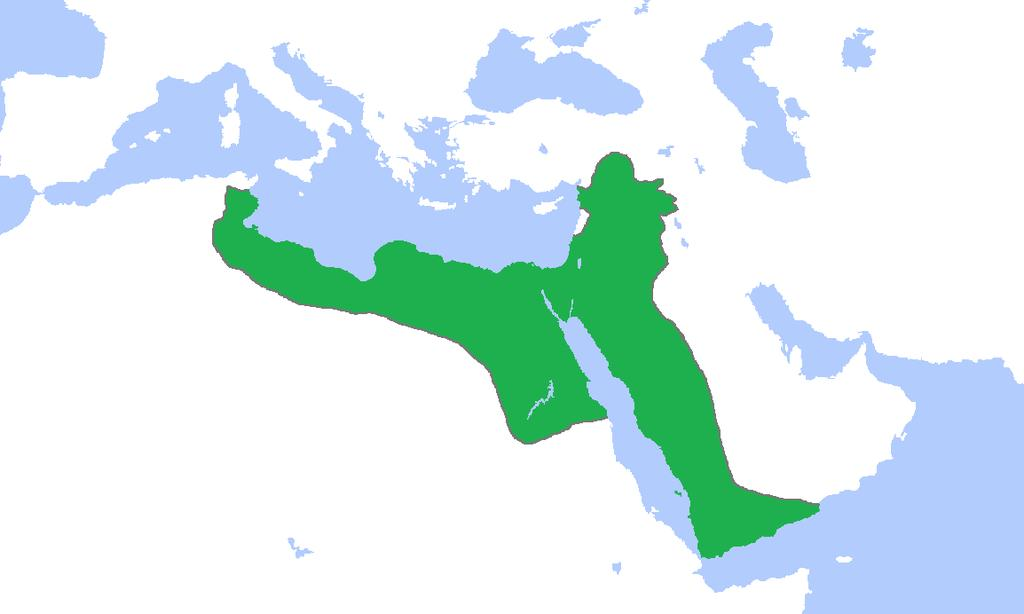 Extent of Islam under the Ayyubid Dynasty (1174-1250),