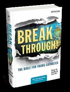 Bold artwork, a clean design, and fresh content invite students to encounter Scripture and experience the wonder of God breaking through into their lives. SOFTCOVER, $29.95, #4149 HARDCOVER, $37.