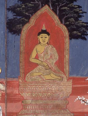 Section 6 - The Prince Becomes the Buddha During a night of deep meditation under the Bodhi tree, Siddhartha achieved enlightenment.
