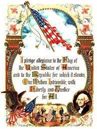"Origins In 1923, the words, ""the Flag of the United States of America"" were added."